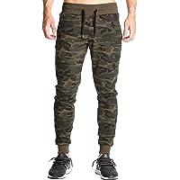 LionRoar Men's Cotton Army Camouflage Gym Track Pants