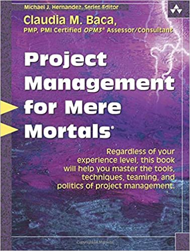 Amazon project management for mere mortals 9780321423450 project management for mere mortals 1st edition fandeluxe Image collections
