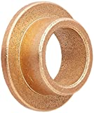 Bunting Bearings FF1011-2 Flanged Bearings, Powdered Metal, SAE 841, 3/4'' Bore x 1'' OD x 1/2'' Length x 1 7/16'' Flange OD x 1/8'' Flange Thickness (Pack of 3)
