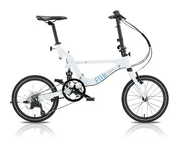 Bicicleta Plegable Jango Flik de TOPEAK (BLANCO) EZV9 18 Shimano Sora 11Kg