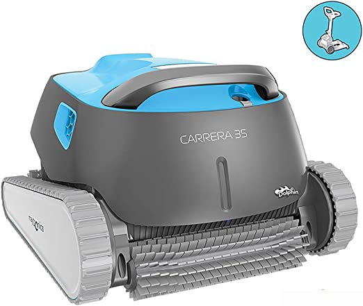 Dolphin Carrera 35 - Robot limpiafondos para Piscinas (Fondo ...