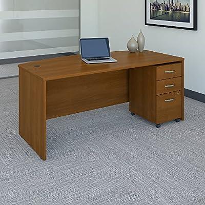 Bush Business Furniture Desk with Pedestal SRC079AUSU