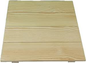 Tabla de madera cuadrado. En pino, para pintar. Ideal para ...