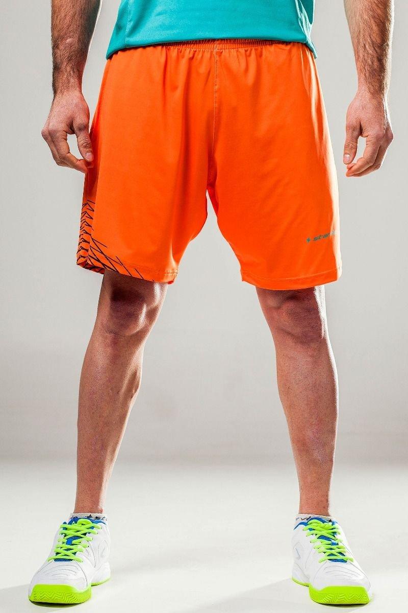 Short Padel StarVie Orange Grid: Amazon.es: Deportes y aire ...