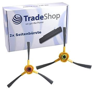 Trade-Shop - Juego de 2 cepillos laterales de 3 brazos para Ecovacs Deebot deepoo