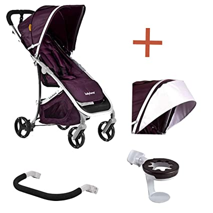 Babyhome Emotion - Silla de paseo, color purpura