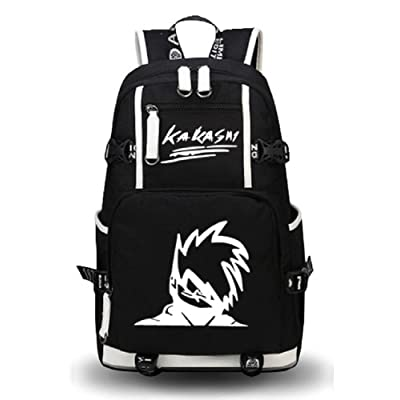 Siawasey Anime Naruto Cosplay Luminous Daypack Backpack Shoulder Bag School Bag