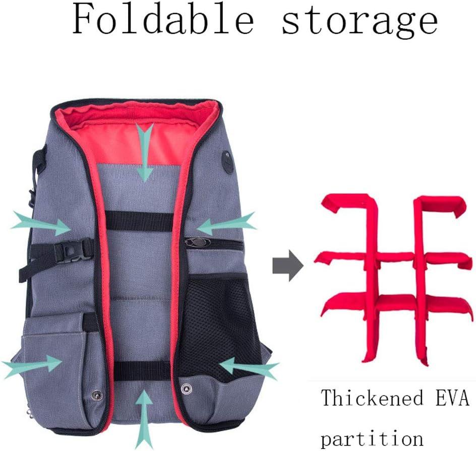 LongLong Folding Camera Bag Outdoor Anti-Theft Waterproof Digital Camera Bag Fashion One Shoulder Computer Backpack,Orange