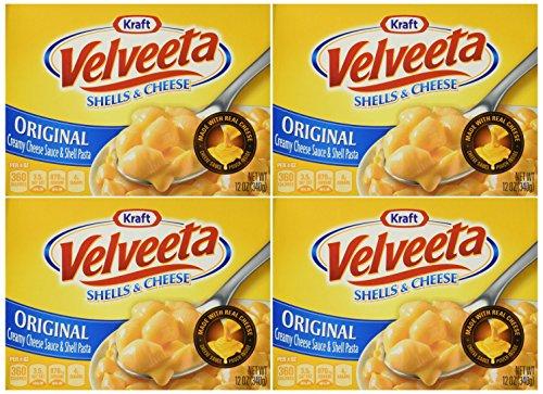 Velveeta Shells & Cheese The Original – 12oz – 4 Boxes Review