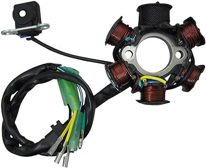 Bobina de generador para 66/80cc eléctrico Start arranque/embrague ...