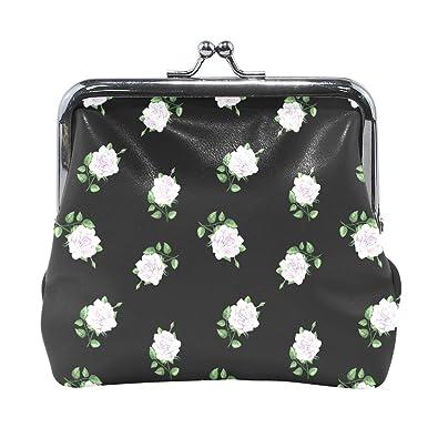 Lyndon Cotton Exquisita hebilla monedero rosas flores ...