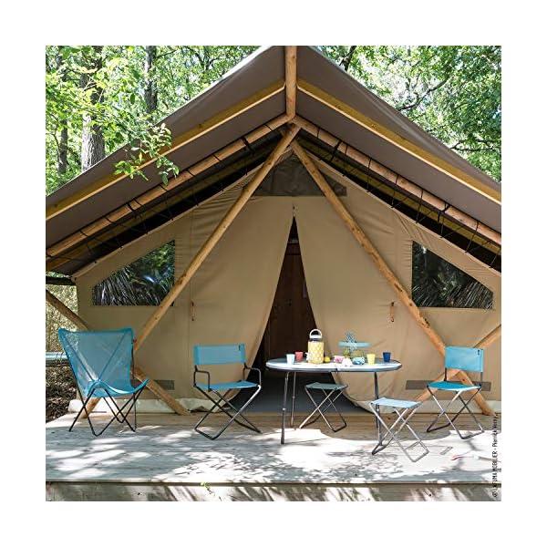 Lafuma Fauteuil de camping, Pliable, Compacte, Avec accoudoirs, FGX XL, Batyline, Couleur: Lac, LFM1346-8553