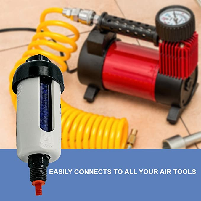 Lematec Filtro secador de aire desecante para compresor herramientas, cortadores de Plasma y aire quita suciedad, aceite y agua. Por. (ZN-312-D): Amazon.es: ...