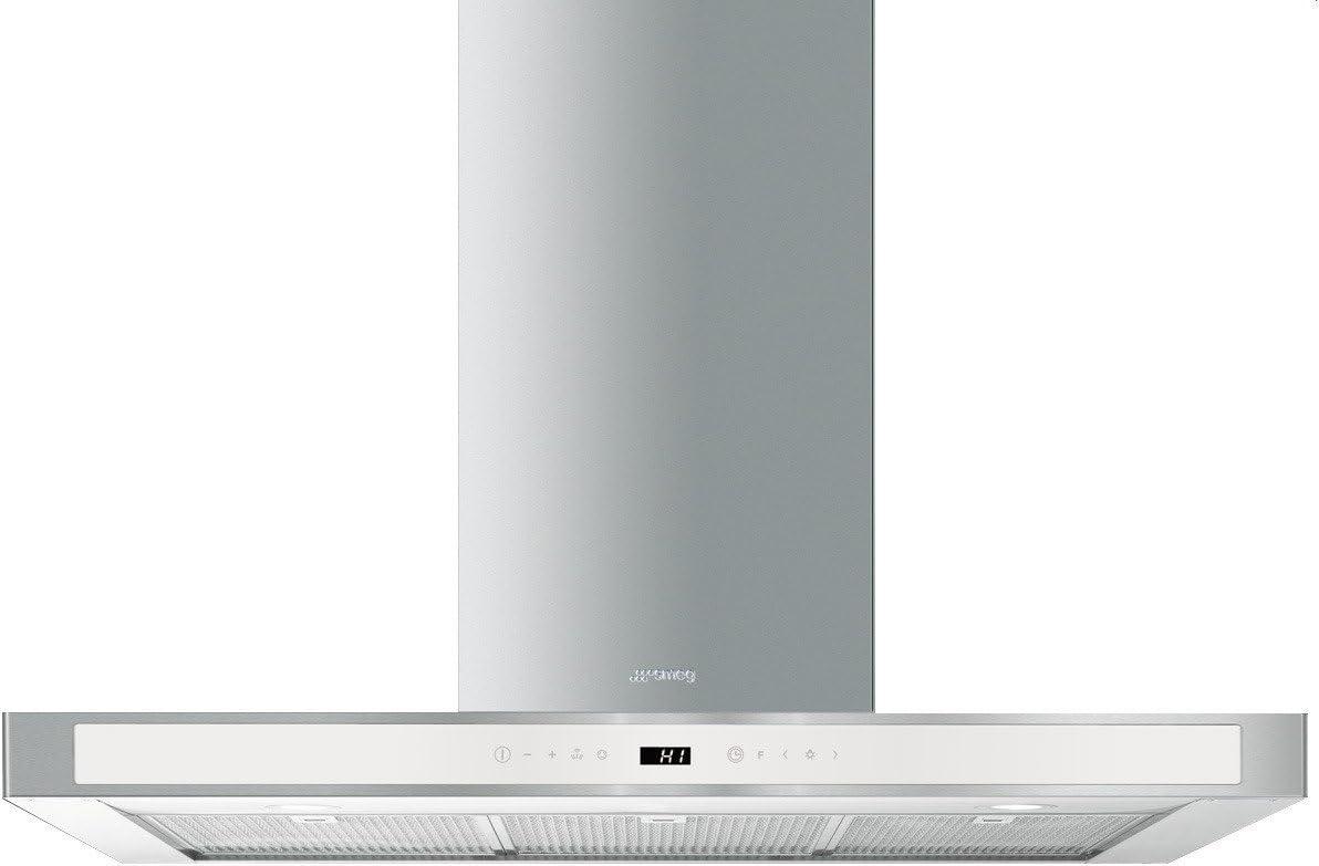 Smeg KS912BXE - Campana (820 m³/h, Canalizado/Recirculación, B, A, C, 73 dB): Amazon.es: Hogar