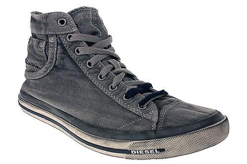 f9456fef77bd3d Diesel Exposure 1 Y00023 PS752 Herren Sneaker  Amazon.de  Schuhe ...