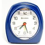 Relogio Despertador Quartz Decorativo Azul Eurora 2695-11