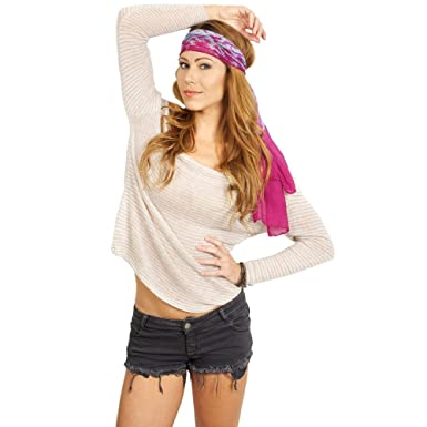 8e03d9417f1 Brandy Melville Jessy Top - Elm at Amazon Women's Clothing store ...