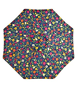 9 Aluminum Umbrella With Crank Arm, in Zinnia