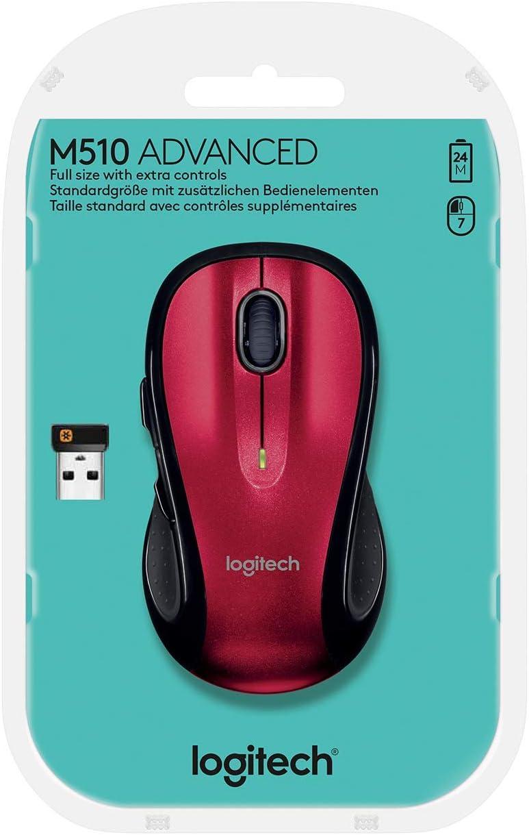 Logitech M510 Maus Computers Accessories