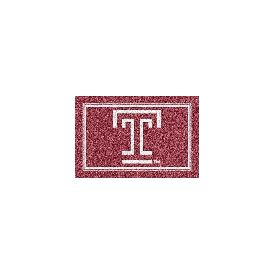 Temple Owls T 4 x 6 Team Door Mat