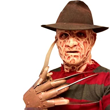 Blush Avenue New Menu0027s Scarry Halloween Freddy Krueger Costume Kit,  Nightmare On Elm Street (