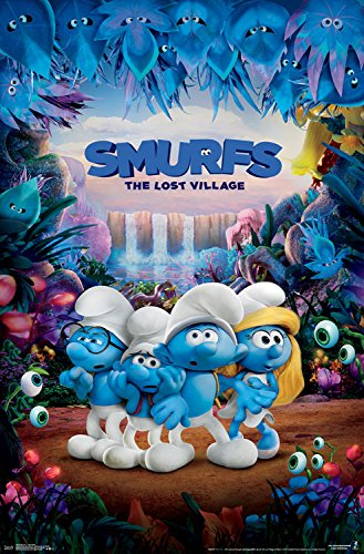 Trends International Smurfs 3 One Sheet Wall Poster