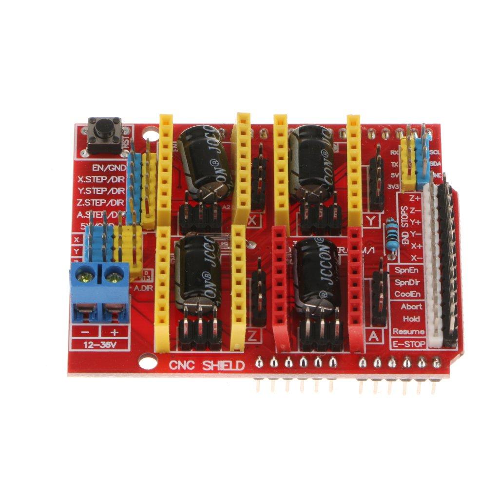 SM SunniMix Tarjeta De Expansión CNC Shield Board A4988 Driver ...