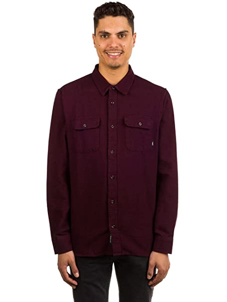 f76eb1b0e1114d VANS Shoes Mens Perry button-down Shirt Port Royale-Black Medium   Amazon.ca  Clothing   Accessories