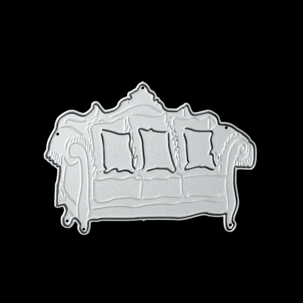 Kingko/® 3D Tools New Metal Cutting Dies Stencil DIY Furniture Shape Scrapbooking Embossing Album Paper Card Craft C