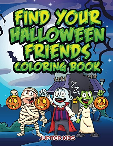 Find Your Halloween Friends Coloring ebook