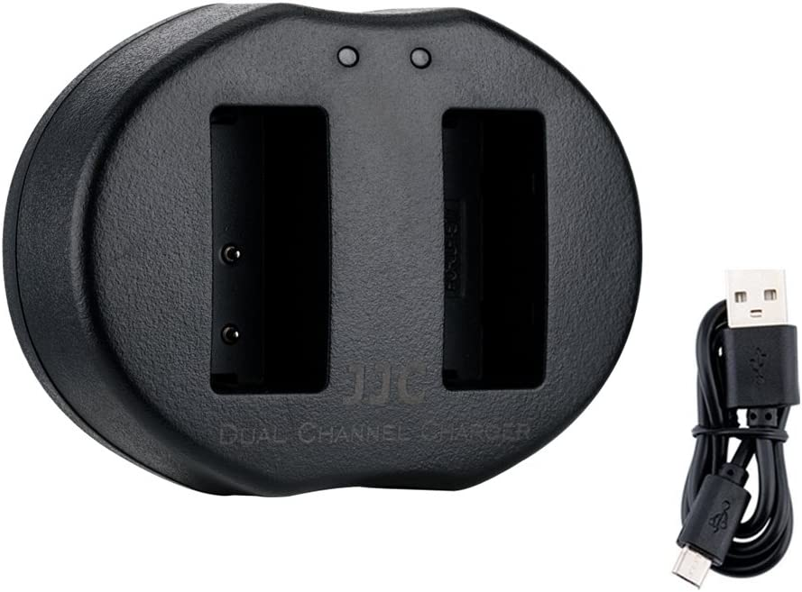 USB Camera Dual Battery Charger For