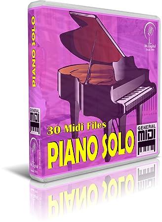 Piano Solo - Pendrive USB OTG para Teclados Midi, PC, Móvil, Tablet, Módulo o Reproductor Midi Que utilices: Amazon.es: Electrónica