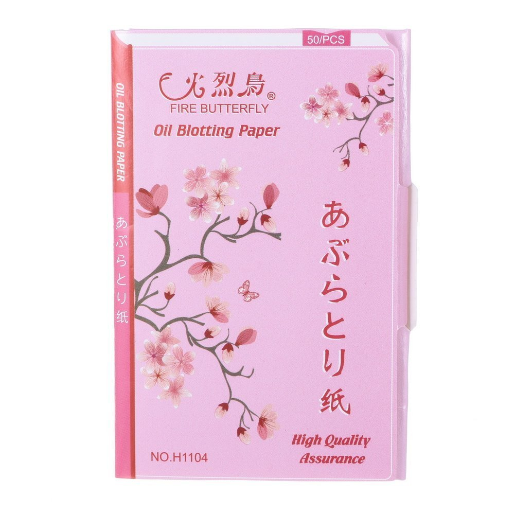 Five Season Cosmetic Accessory Blotting Paper Oil Control Tissue 50pcs with Red Box by Five Season