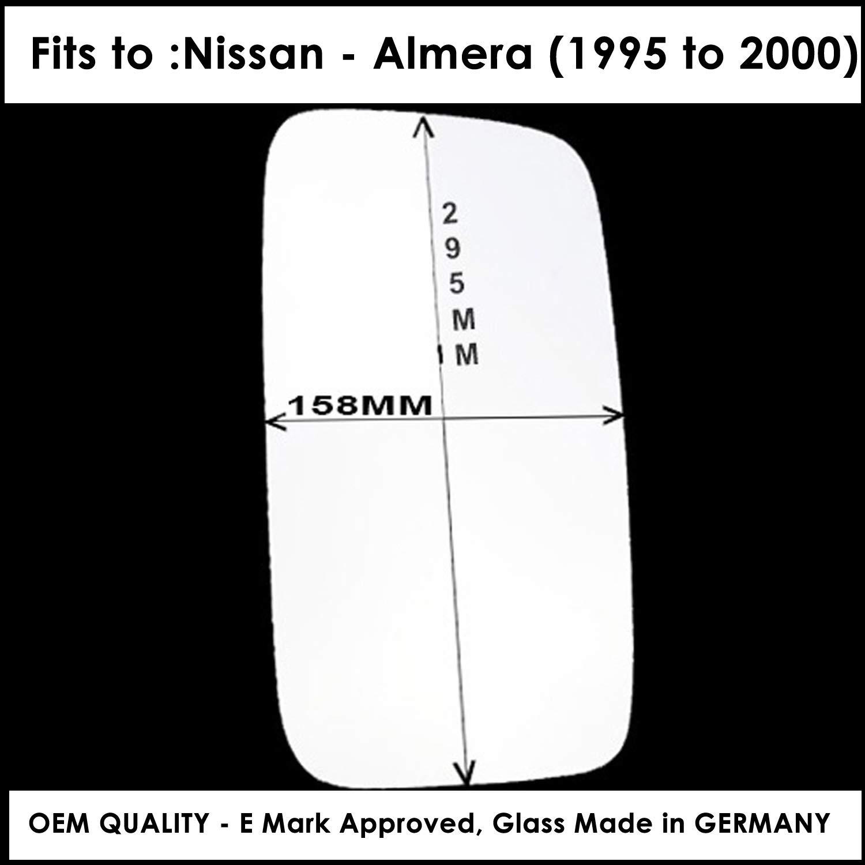 Espejo retrovisor convexo para puerta derecha para NISN-Cabstar NT400 F24 a/ño 2006 a 2018