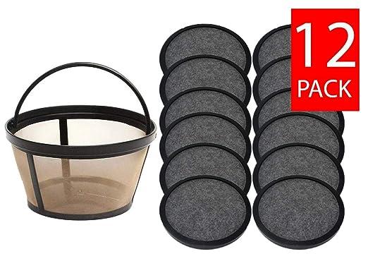 teklectric 8 - 12 taza permanente Sr. Café basket-style Filtro de ...