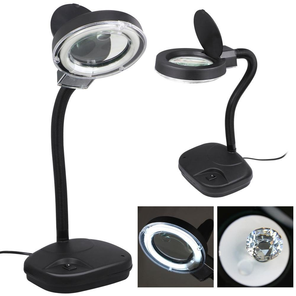 Desk Magnifying Lamp Hostgarcia