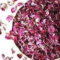 Organic Dried Rose Petals, Egypt, non-GMO, Culinary-grade (3.2 oz/90 grams)