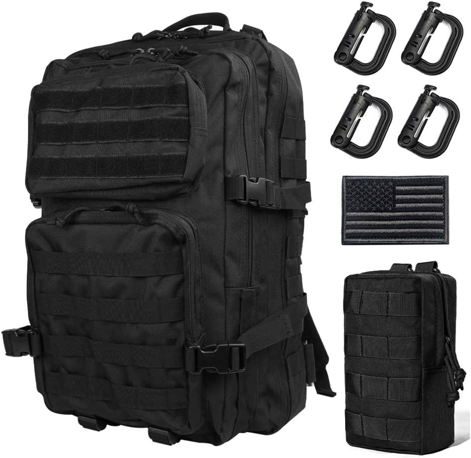 Outdoor Camping Hiking Waterproof Military Army Tactical Backpack Sport BB