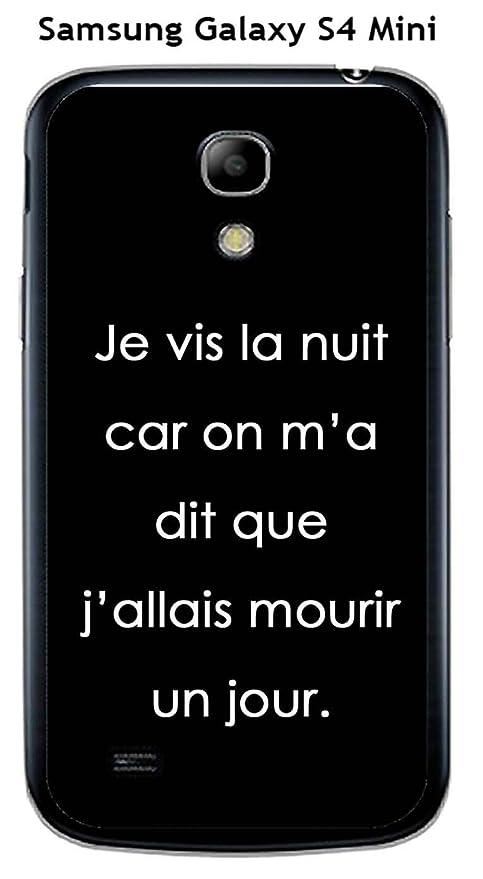 Onozo Carcasa Samsung Galaxy S4 Mini diseño con cita Je Vis ...