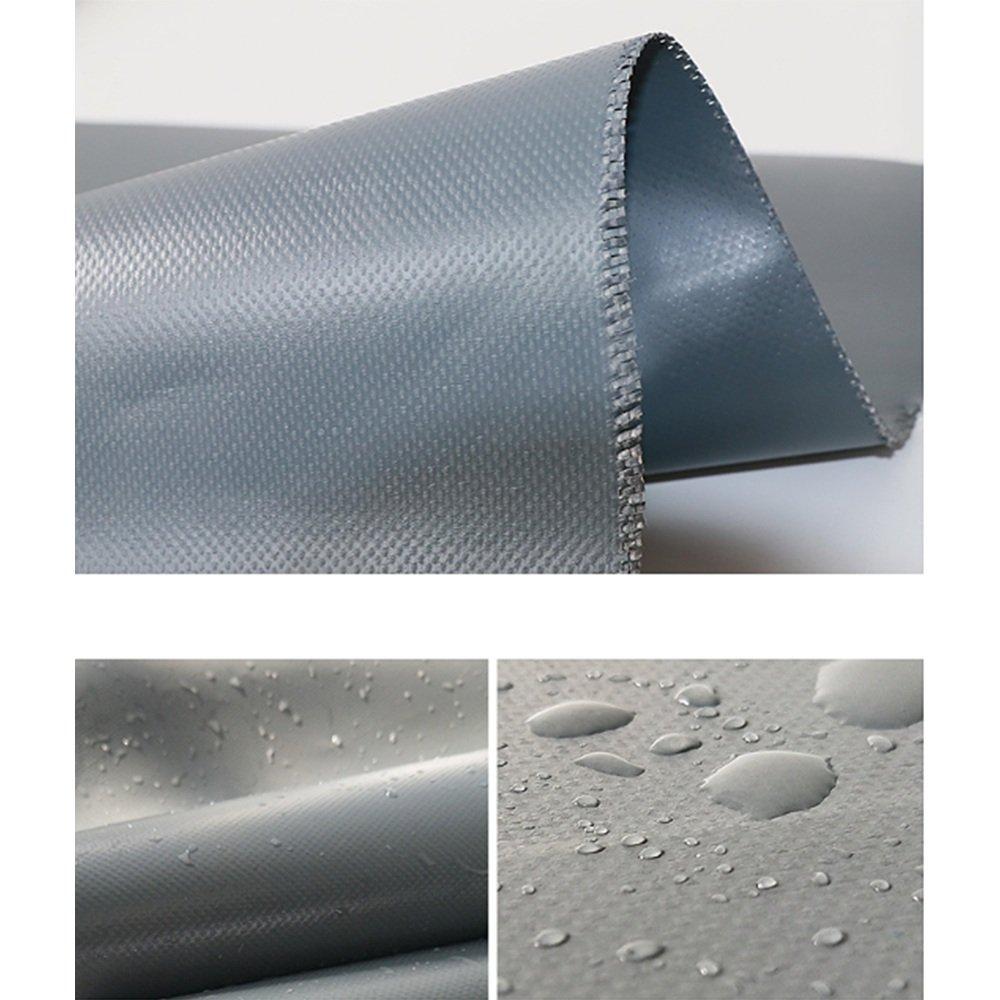 Hyzb Wasserdichte wasserfeste graue graue graue Messerschaber Outdoor-Sonnenschutz Oxford Leinwand-500g   m² (größe   4  6m) B07PT3LHGP Zeltplanen Empfohlen heute 1a4fbb