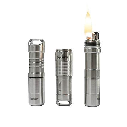 Amazon.com: MecArmy X7S multifuncional EDC cápsula linterna ...