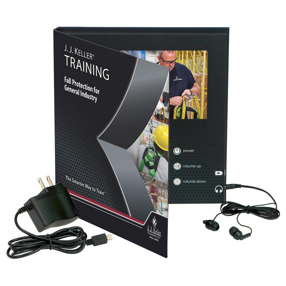 Fall Protection for General Industry Spanish Video Training Book - J. J. Keller & Associates - Help learners Understand OSHA Fall Protection Requirements Under The Walking-Working Surfaces Rule