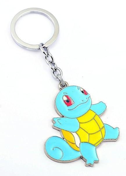 BSBL Pokemon - Llavero de animación Pikachu Squirtle Miaouss ...