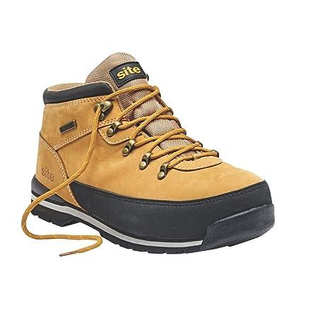 f93671ec6b2 Site Meteorite Waterproof Safety Boots Tan Size 8: Amazon.co.uk: DIY ...