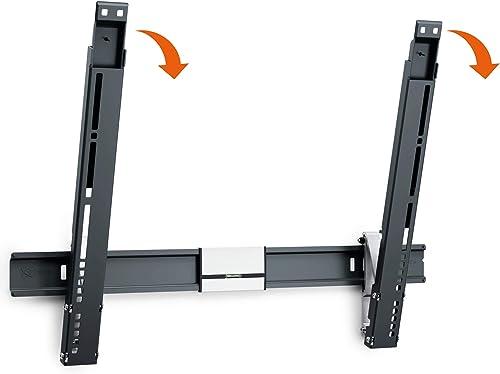 Vogel s TV Wall Mount, Thin 515 Extra Thin Tilting Bracket for 40-65 inch TVs, Black