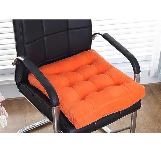 Almohadillas para sillas Cojín de asiento cuadrado sólido ...