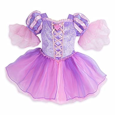 cae2976b5 Amazon.com: Disney Store Deluxe Rapunzel Tangled Costume Halloween Size 18  - 24 Months 2T: Clothing
