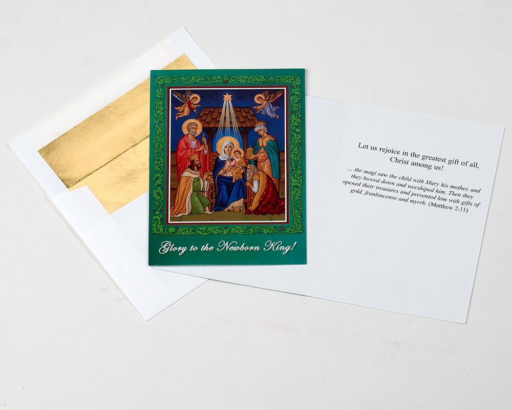Amazon.com : Set of 15 Religious Christmas Cards : Greeting Cards ...