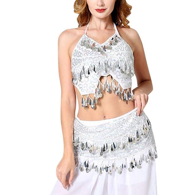 Amazon com: YEZIJIN Women Belly Dance Costume Dance Dress