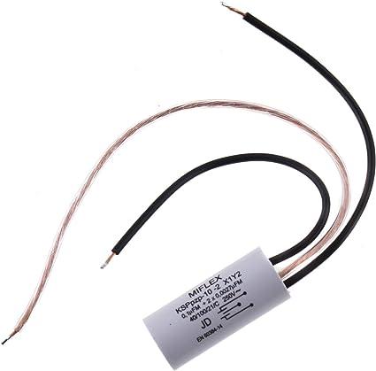 1 x Miflex KSPPpzp-024 X2Y2 0,4µF 2x 2,5nF 250V